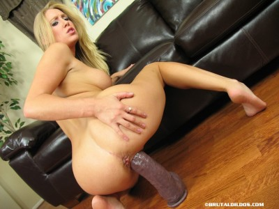 Allison Pierce Riding Her Toy